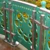 Neues Edelstahl-Geländer als Ergänzung des Bestandes