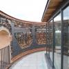Aussichtsplattform mit neuem verglasten Austritt.