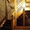 neue Holztreppe und neues Leuchtensystem