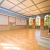 Sanierte Aula in der Nürtingen-Grundschule